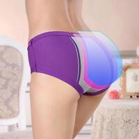 Women's Menstrual Sanitary Period Leak Proof Briefs Seamless Panties Underwear
