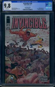 Invincible 100 CGC 9.8 Wraparound cover Ottley Variant Cover