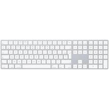 A1843 Clavier Apple Magic Keyboard AZERTY avec pavé numérique Argent Blanc