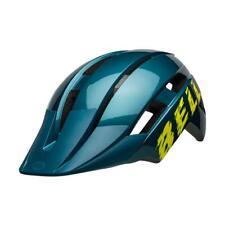 Bell Sidetrack II Cycle Bike Child Helmet Buzz Gloss Blue / Hi-Viz - 47-54 CM