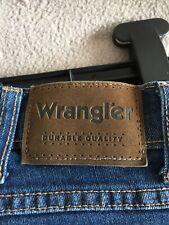 Wrangler Mens Blue Jeans W34 L30 Bootleg