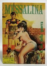 MESSALINA GIGANTE N° 2 - IL DIO DELLA GUERRA - 1970 ERREGI RG - FUMETTO SEXY