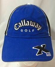 Callaway Golf X.460 Blue Black Hat Cotton Baseball Cap Fitted Stretch OSFA