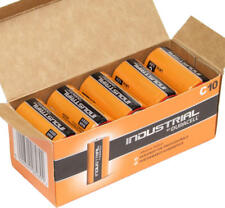 DURACELL *10pz* MEZZA TORCIA INDUSTRIAL 1,5V ALCALINA PROCELL MN1400 1/2 TORCIA