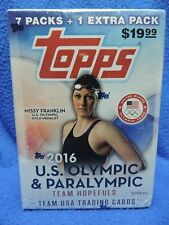 2016 US Olympic and Paralympic Team USA Trading Card Box