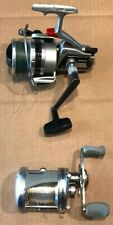 Lot of Two (2) Fishing Reels-Shakespeare SKP 200C Baitcaster & Daiwa 2600C