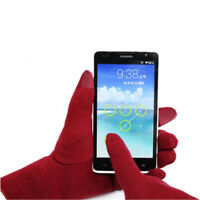 Women's Winter Warm Thick Soft Cashmere Touch Screen Fleece Gloves Warming