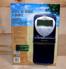 Magnum QRW18 LCD Digitaluhr Wecker Digitalwecker Reisewecker Tischwecker Dk.Blau