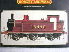 """Horny Railways - """"00"""" Model Catalogue 1978"""