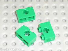 LEGO TECHNIC green brick 1x2 ref 32064 / Set 7163 9719 9649 7186 7780 3804 7683