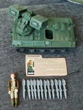 Vintage 1983 GI Joe WOLVERINE Armed Missile Vehicle 100% COMPLETE Covergirl Mint
