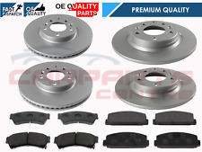 MAZDA 6 2.0i 2.0 2.2 CD 2.5i SPORT 2008-2012 FRONT & REAR BRAKE DISCS AND PADS
