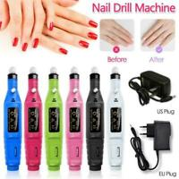 Professional Electric Nail File Drill Manicure Tool Pedicure Machine Set kit SPD