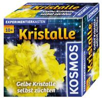 KOSMOS Experimentierkasten * Gelbe Kristalle selbst züchten * GELB & Schmuckdose
