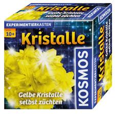 KOSMOS Experimentierkasten Gelbe Kristalle selbst züchten GELB & Schmuckdose