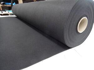 Auslegware Innenverkleidung PKW, Oldtimer, Van 200 cm Breite schwarz  2,45 €/qm