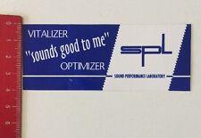 Pegatina/sticker: SPL-Sound performance Laboratory (090416194)