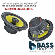 "Ground Zero - 6.5"" 165mm 16.5cm 130 Watts 3-Ohm 2-Way Coaxial Car Speakers"