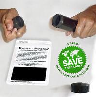 Samson BLACK Hair Building Fibers  25gr Best Hair Loss Concealer in The World