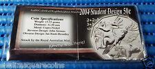 2004 Royal Australian Mint Student Design 50 Cents Cupro-Nickel Coin