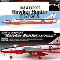 Academy: F.6/FGA.9 HAWKER HUNTER RAF & EXPORT in 1:48