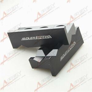 New Vise Soft Jaws Aluminum Magnetic For AN Hose End Black