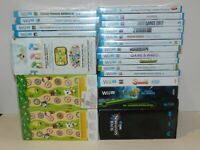 Nintendo Wii U Games NEW SEALED Fun You Pick & Choose Video Games Lot RARES