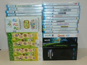 Nintendo Wii U Games NEW SEALED Fun You Pick & Choose Video Games Lot 11/27