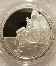 1 oz .999 silver proof Apollo 11 Neil Armstrong one small step JFK NASA 50th NEW