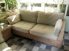 Marks & Spencer conservatory Rattan Sofa and coffee table