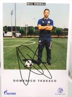 Domenico Tedesco + Autogrammkarte 2018/2019 + FC Schalke 04 + AK201970 +