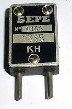Quartz SEPE 1635 kc/s