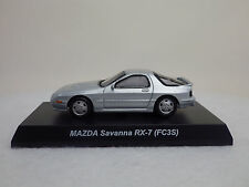 1: 64 MAZDA Savanna RX-7 FC3S Silver Rotary Engine Minicar Collection KYOSHO NEW