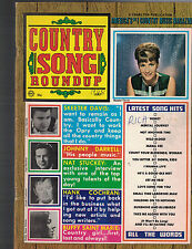 Country Song Roundup July 1968 Skeeter Davis Nat Stuckey Buffy Saint Marie