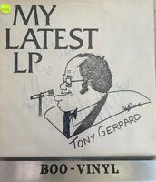 TONY GERRARD -My Latest LP  SIGNED COPY   Vinyl Lp Record Ex Con