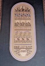 Drawn Thread LILY OF THE VALLEY Counted Cross Stitch PATTERN / CHART