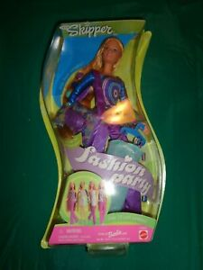 2000 Mattel Teen Skipper Fashion Party Doll 29938 New in Box