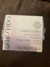 Shiseido White Lucent Anti-Dark Circles Eye Cream 15ml/.53oz Sealed New in Box!
