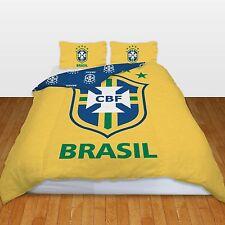 OFFICIEL Brésil équipe de football set Housse couette double CBF COUPE DU MONDE