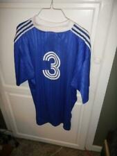 Adidas #3 Blue Shirt 3 White Stripes On Sleeves Size XL Blue NICE