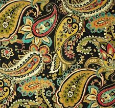 Outdoor/ Indoor ~ Upholstery ~ VICTORIAN AGED PAISLEY ~ Fabric ~ per 1/4 yd
