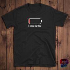 I Need Coffee T Shirts Funny Lovers Men Women Shirt Birthday Gift Idea