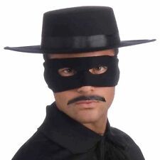 Black Deluxe Spanish Hat Gaucho Zorro Hat Mexican Legend Of Zorro Hat