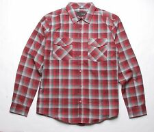 Hurley Perry Long Sleeve Shirt (Red) M
