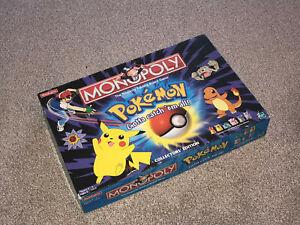 MONOPOLY GAME : POKEMON - RARE 2000 COLLECTOR'S EDITION (FREE UK P&P)