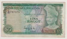 A/65 797578 RM5 2nd Series Ismail Ali Malaysia