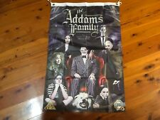 Adams family printed bar  poster bar Man cave flag lurch cousin it pugsly movie