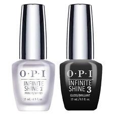 OPI Infinite Shine Nail Lacquer - Prime Base + Gloss Top Coat DUO 15ml/0.5oz