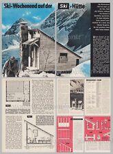 Bauplan Gartenhaus / Pultdachhaus / Holzhaus - Original aus den 60er Jahren