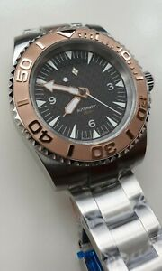 Custom Dive Watch with Dagaz Dial and Seiko NH35 movement